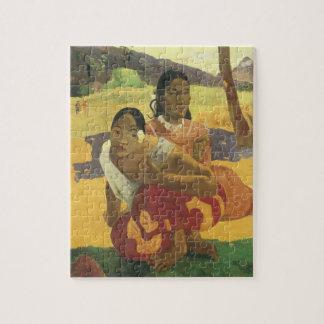 Puzzle Quand vous marierez-vous ? par Paul Gauguin, art