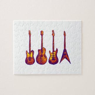 Puzzle Quartet de ficelle