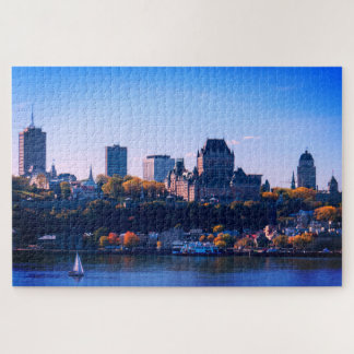 Puzzle Québec coloré
