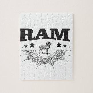 Puzzle RAM des moutons