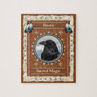Puzzle Raven - casse-tête magique sacrée avec la