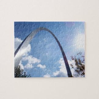 Puzzle Rayon de soleil de voûte de St Louis