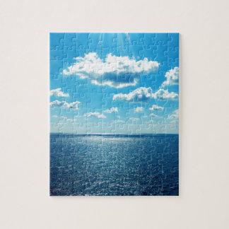 Puzzle Rayons au-dessus de la mer