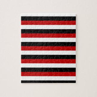 Puzzle Rayures de drapeau du Trinidad-et-Tobago Yémen