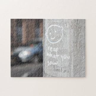 Puzzle Récoltez ce que vous semez la photo NYC de