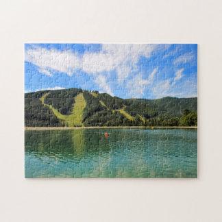 Puzzle Réflexion de lacs mountain