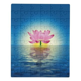 Puzzle Réflexion de Lotus