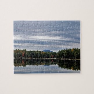 Puzzle Réflexion de montagne de Kellogg sur le lac