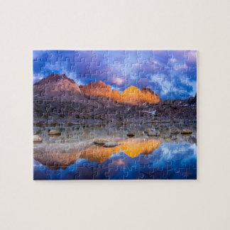 Puzzle Réflexion de montagne, la Californie
