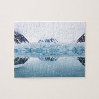 Puzzle Réflexions de glacier, Norvège