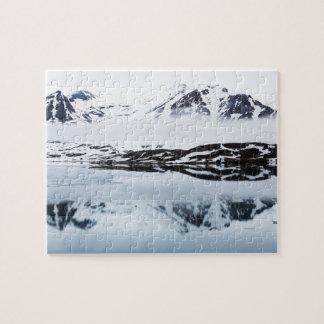Puzzle Réflexions de montagne, Norvège