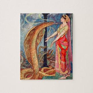 Puzzle Reine des serpents