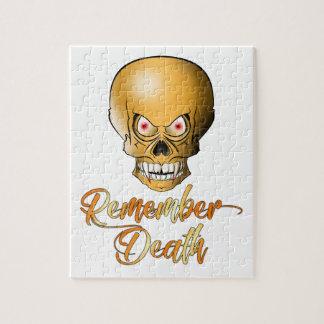 Puzzle Remember Death
