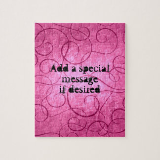 Puzzle Remous girly roses