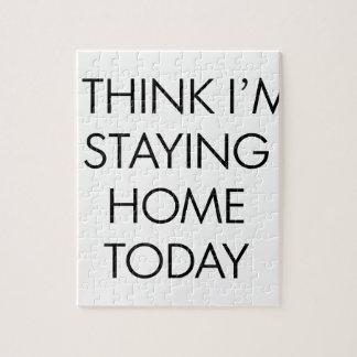 Puzzle Restant la maison aujourd'hui