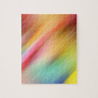 Puzzle Résumé de couleurs multiples mélangeant