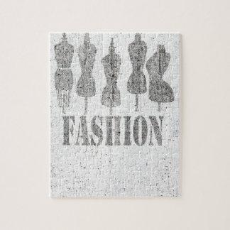 Puzzle Rétros formes vintages de robe de tailleur