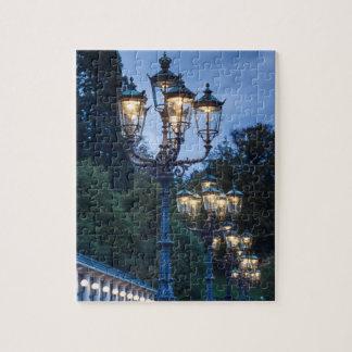 Puzzle Réverbères la nuit, Allemagne