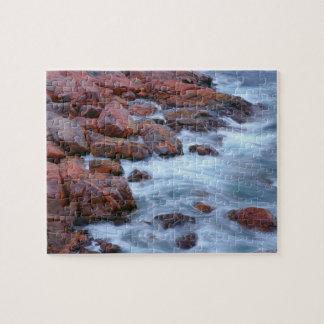 Puzzle Rivage rocheux avec de l'eau, Canada