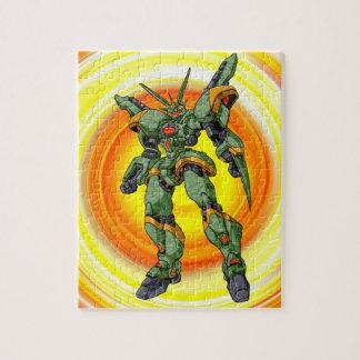 Puzzle Robot de Camo d'Anime
