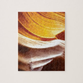 Puzzle roches bronzages du soleil d'orange