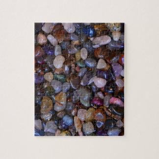 Puzzle Roches polies colorées