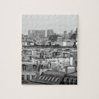 Puzzle roofs of Paris