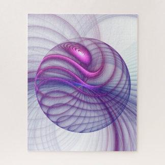 Puzzle Rose abstrait d'art de fractale de beaux