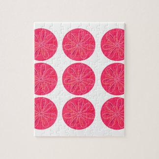 Puzzle Rose de citrons de conception
