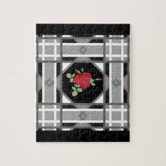 Puzzle Roses rouges, rétros