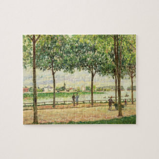Puzzle Rue d'Alfred Sisley | des chataîgners