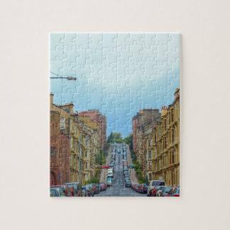 Puzzle Rue de Gardner la plus raide à Glasgow