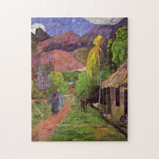"Puzzle ""Rue De Tahiti"" - Paul Gauguin"