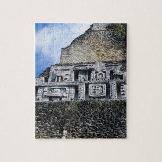 Puzzle Ruine maya de Xunantunich à Belize
