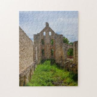 Puzzle Ruines vides de pièce