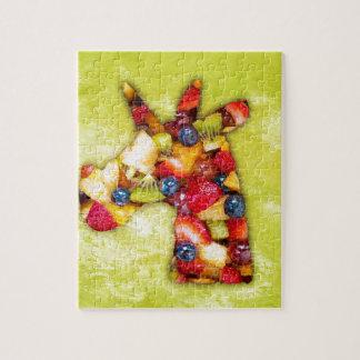 Puzzle Salade de fruits de licorne
