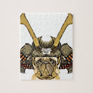 Puzzle samurai_pug