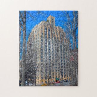 Puzzle Scène abstraite. Central Park New York.