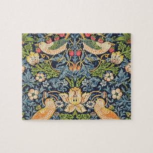 Puzzle Schéma floral William Morris Strawberry Thief