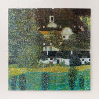 Puzzle Schloss Kammer sur l'Attersee II par Gustav Klimt