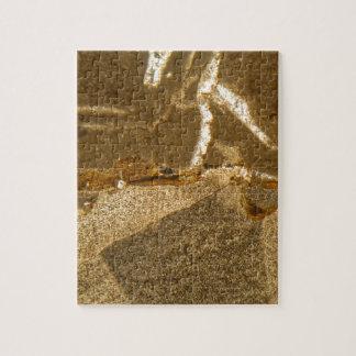 Puzzle Section mince de carbonate triassique sous le