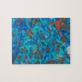 Puzzle Shattuckite patterened par bleu
