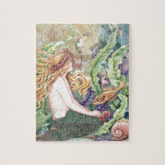 Puzzle Sirène blonde