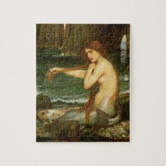 Puzzle Sirène par le château d'eau de JW, art victorien
