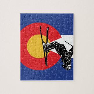 Puzzle Ski le Colorado