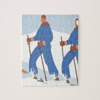 Puzzle Ski SUPÉRIEUR
