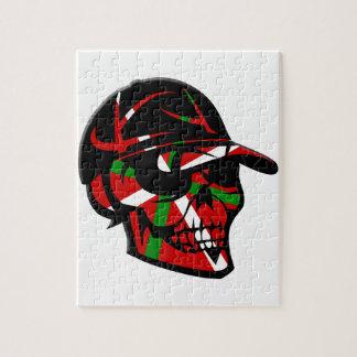 Puzzle Skull surfeur Basque