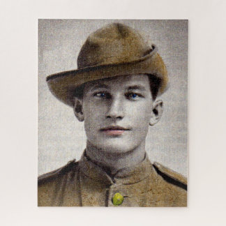 Puzzle soldat beau de guerre de Boer