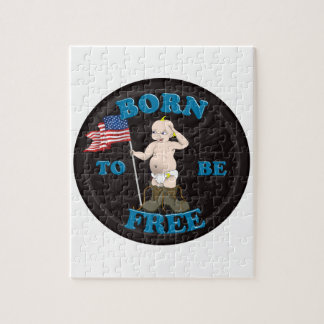 Puzzle Soutenu pour être libre