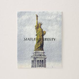 Puzzle Statue d'ABH de la liberté